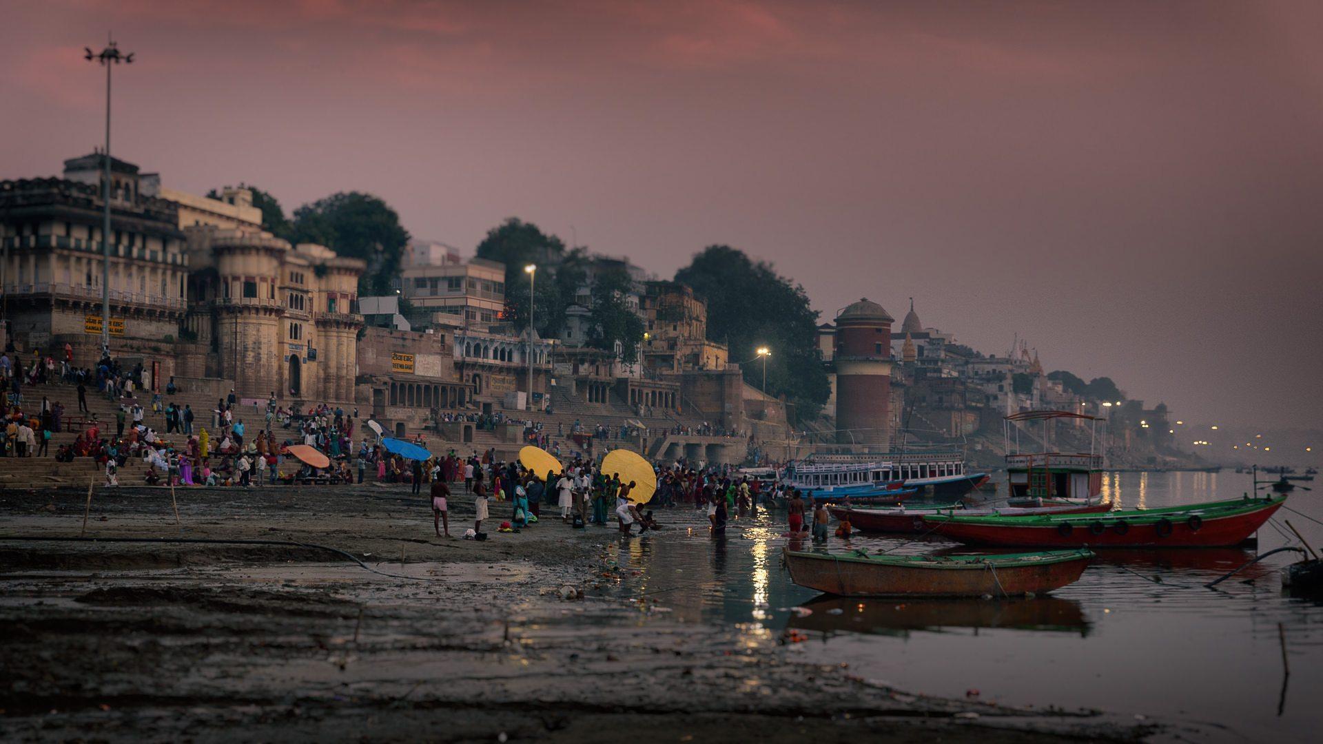 River Ganges Varanasi © Hamish Scott-Brown