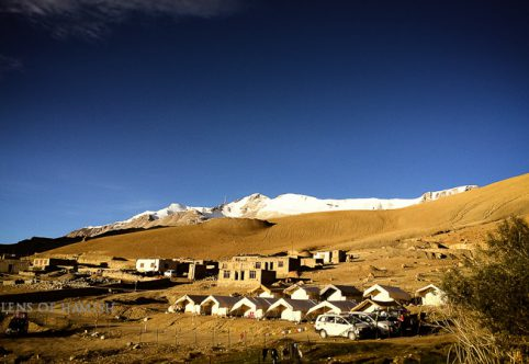 camp at Tso Moriri lake, Ladakh