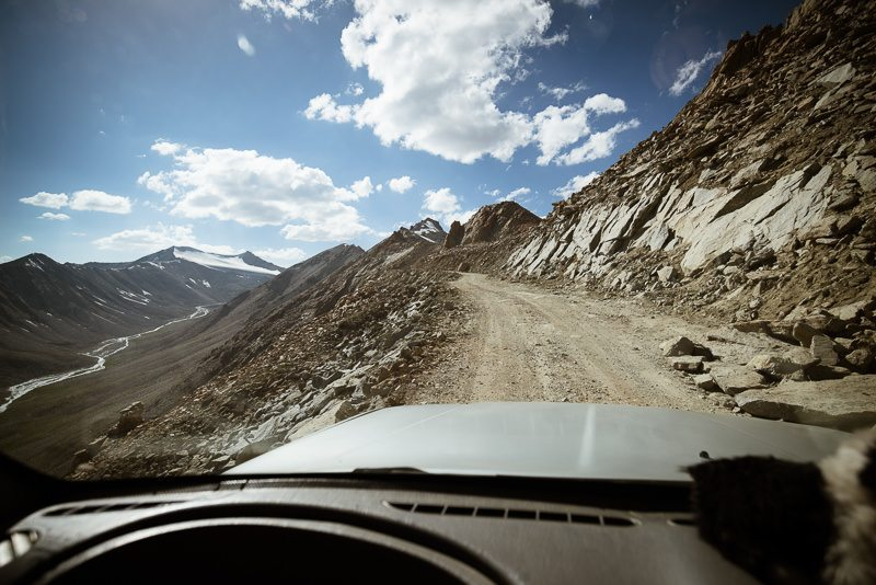the road over to Nubra valley via Kardung La pass