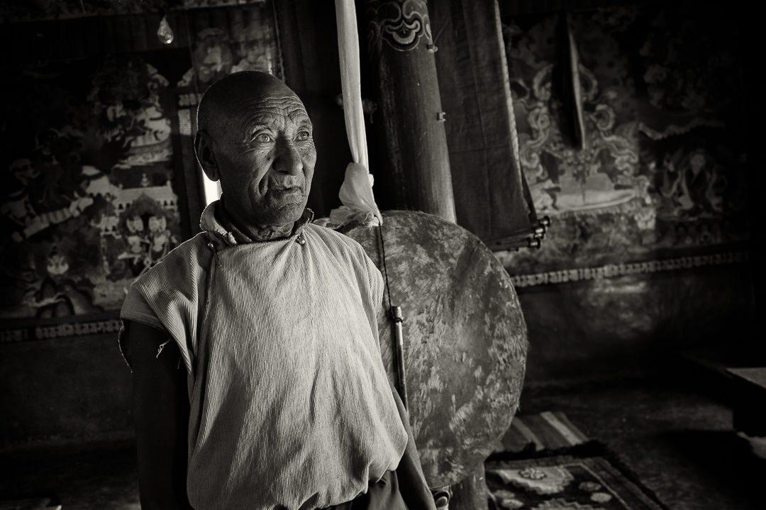 Tak Thok monastery monk