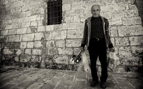 Man with his shopping - Puglia