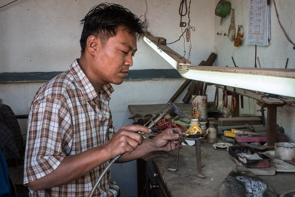 artisan crafts makers in myanmar