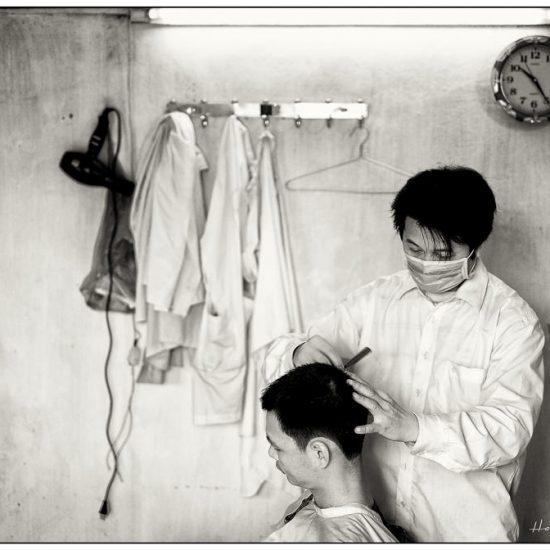 haircut, hanoi barber,