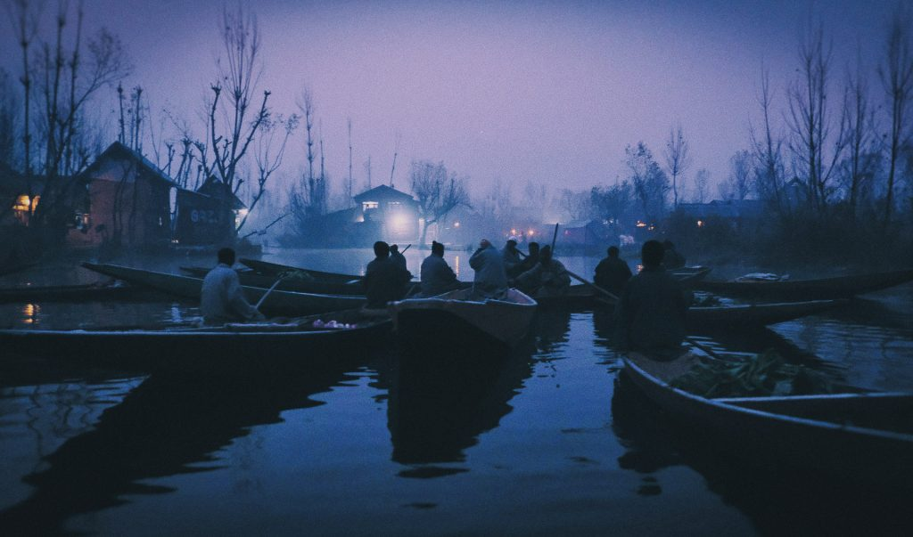 dawn light vegetable market srinagar kashmir © Hamish Scott-Brown