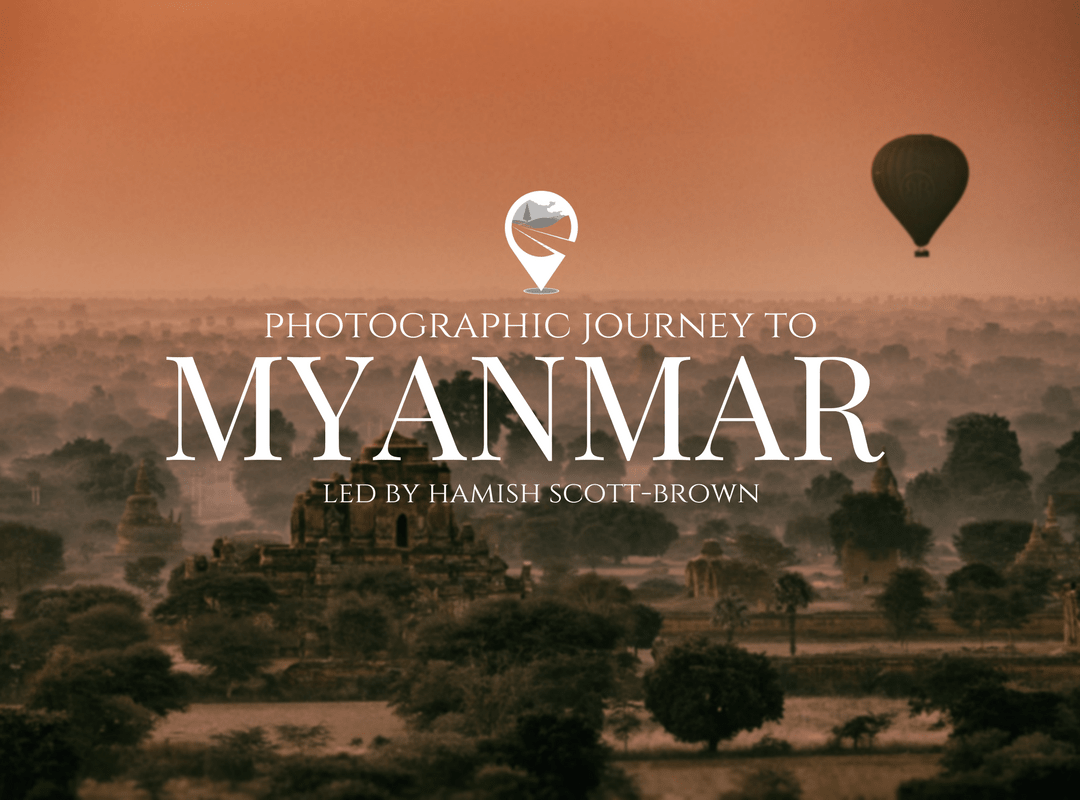 balloons at dawn above Bagan Myanmar © Hamish Scott-Brown