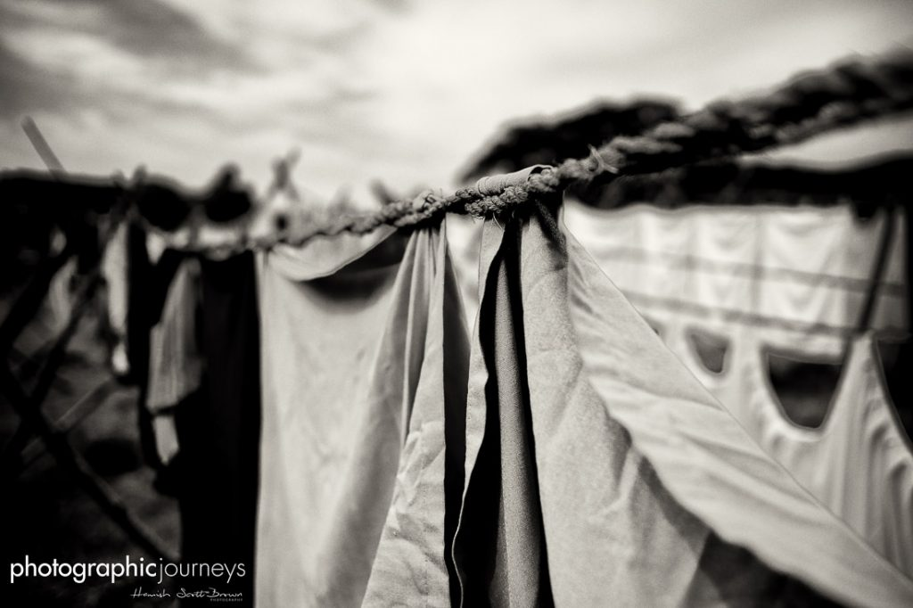 traditional laundry rope in kerala ©Hamish Scott-brown