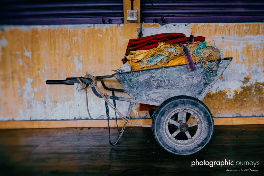 laundry barrow at the dhobi khana in old cochin © Hamish Scott-Brown