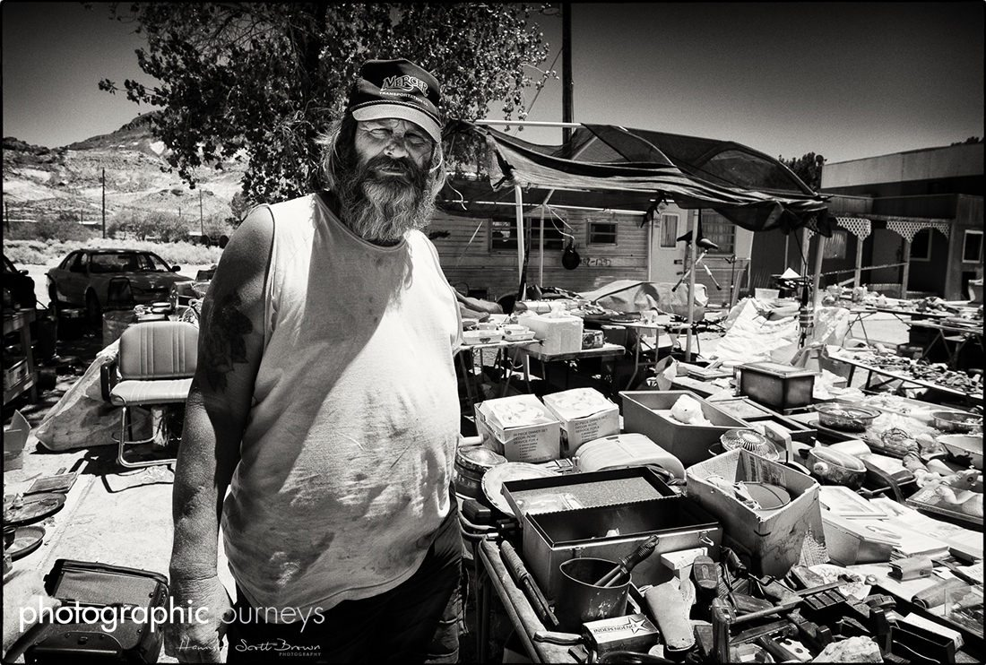 Roadside trader on route66 california ©Hamish Scott-Brown