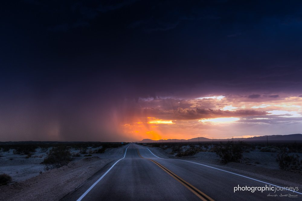 dust storm over Amboy Route66 ©Hamish Scott-Brown