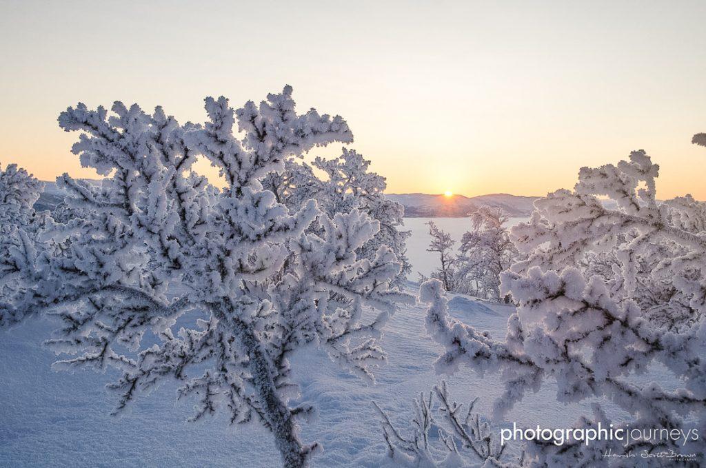 arctic tundra scene near enontekio finland © Gareth Hutton
