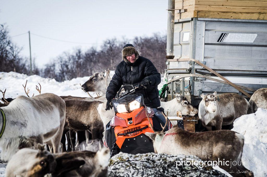 arctic reindeer herders © Gareth Hutton