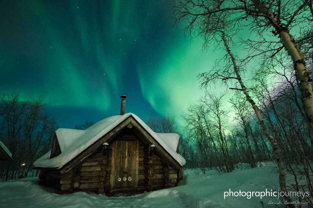 wilderness hut in northern finland © Gareth Hutton