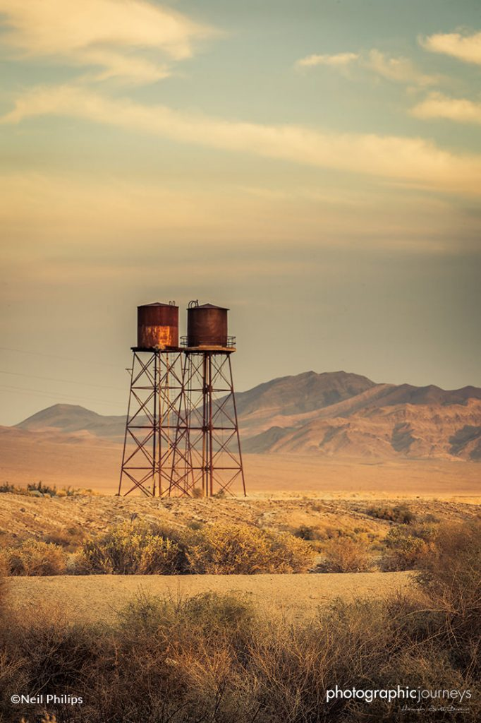 two water towers ©Neil Philips