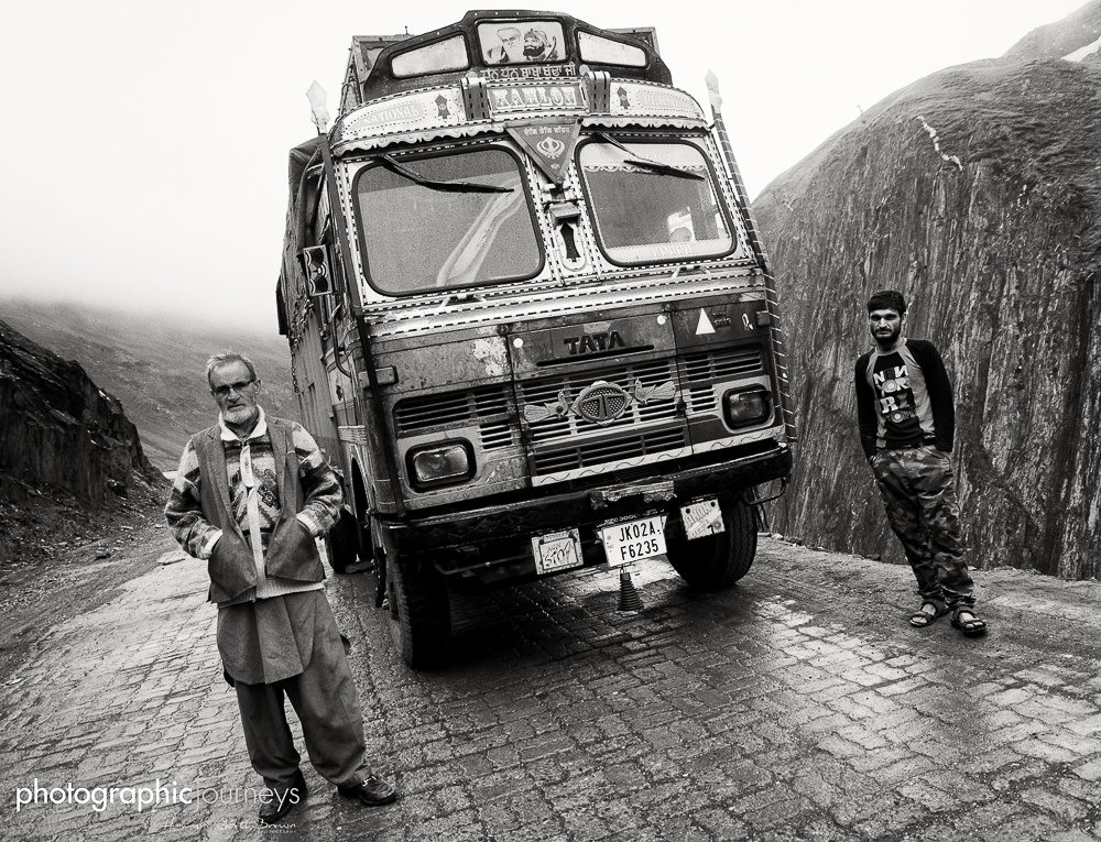 truck drivers in Kashmir © Hamish Scott-Brown