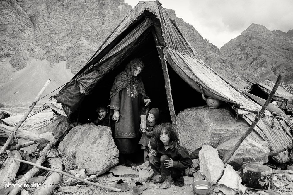 Bakarwal nomads in Dras Ladakh ©Hamish Scott-Brown