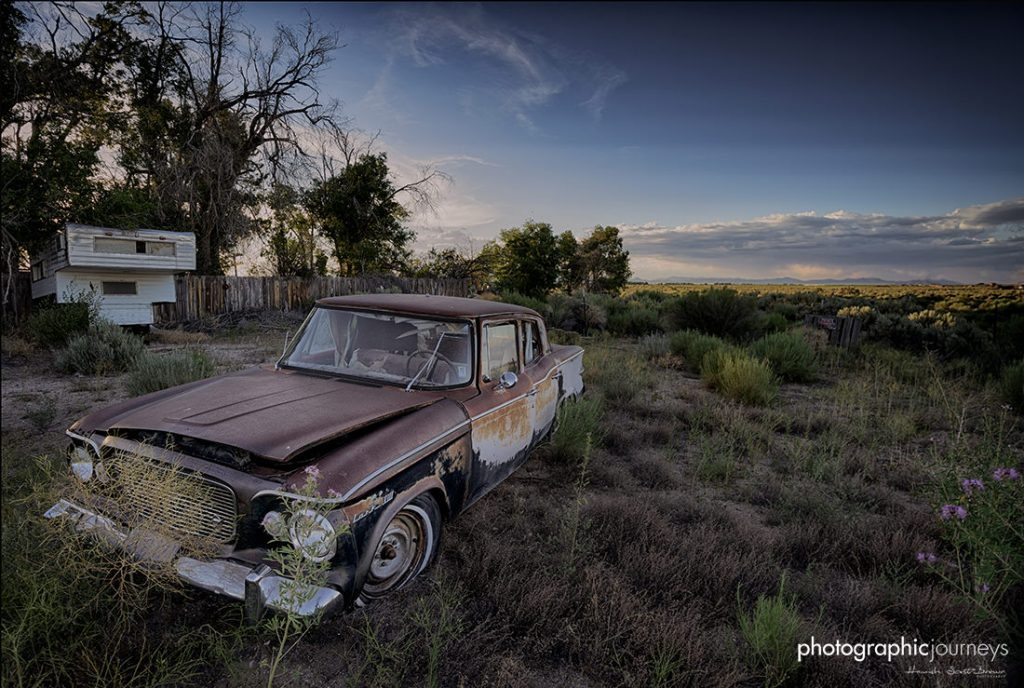 abandoned car route66 ©Hamish Scott-Brown