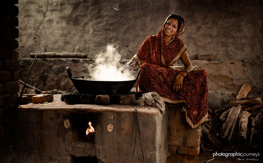 traditional cooking in rajasthan © Hamish Scott-Brown