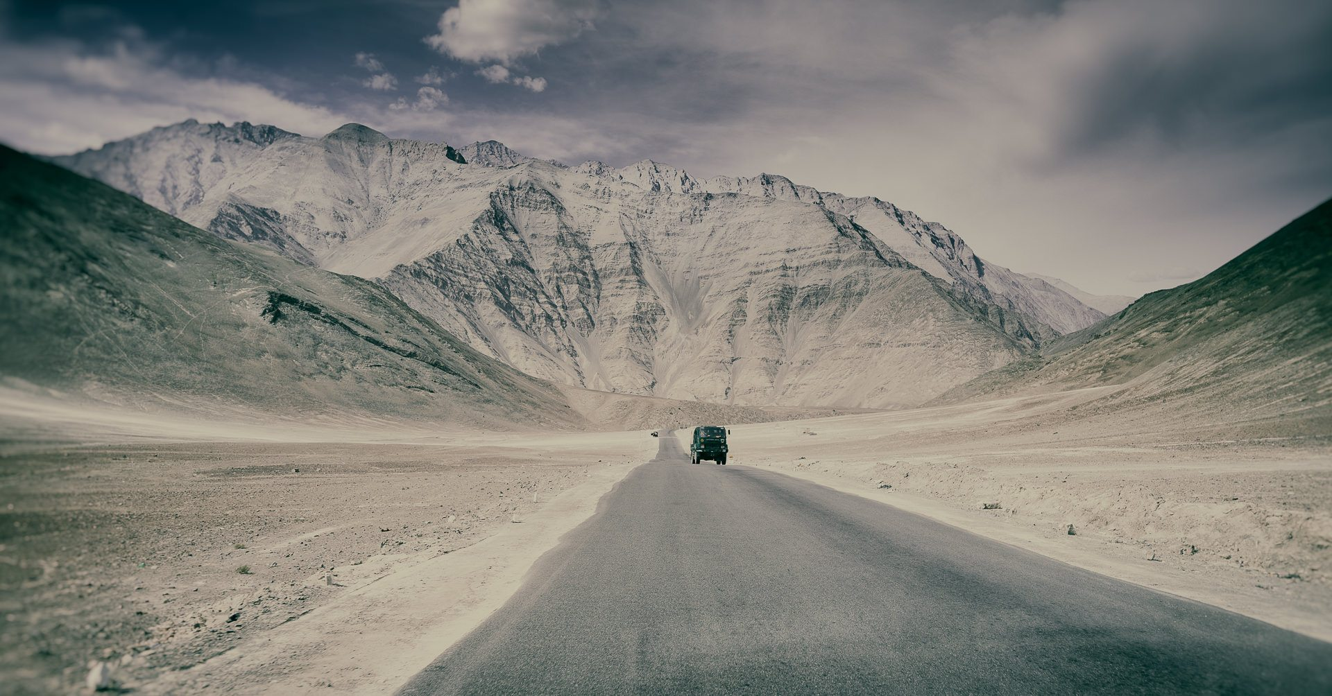 straight road in Himalayan Ladakh ©Hamish Scott-Brown
