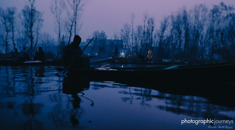 morning at the market on dal lake srinagar, photographic journeys ©Hamish Scott-Brown